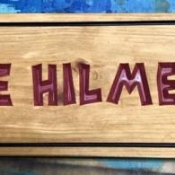 The Hilmer's Family  Sign