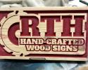 New RTH Hand-Crafted Signs & More Logo